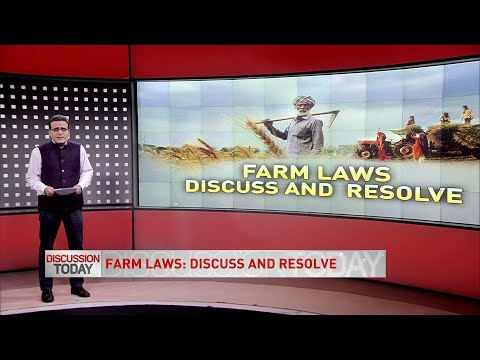Discussion Today - Farm Laws: Discuss and Resolve