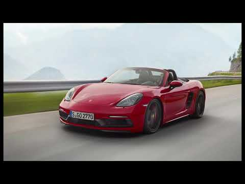 Porsche 718 Boxster and Cayman GTS turn up the power