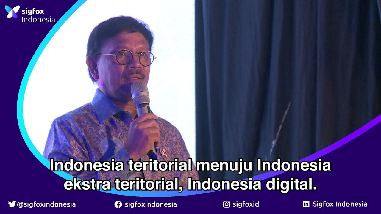Pemerintah dukung Sigfox Indonesia - YouTube