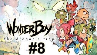 """Прохождение Wonder Boy The Dragon's Trap Серия 8 """"Падение самурая и взлет орла"""""""