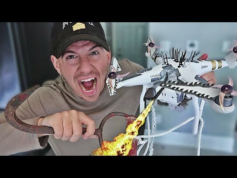 MOST DANGEROUS TOY OF ALL TIME!! (DRONE EDITION) *GONE WRONG*