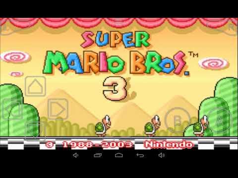 Super Mário Bros 3 o segundo castelo do bom bom