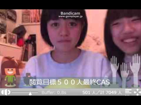 【ニコ生】JC、乙女戦争01('-'*)