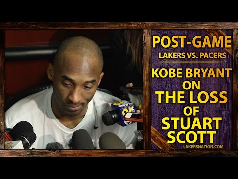 Kobe Bryant On The Passing Of ESPN's Stuart Scott