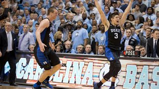 Duke/UNC: Top 10 Finishes (3/5/16)