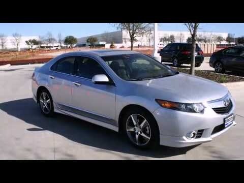 2012 Acura Tsx Special Edition 5 Speed Automatic Youtube