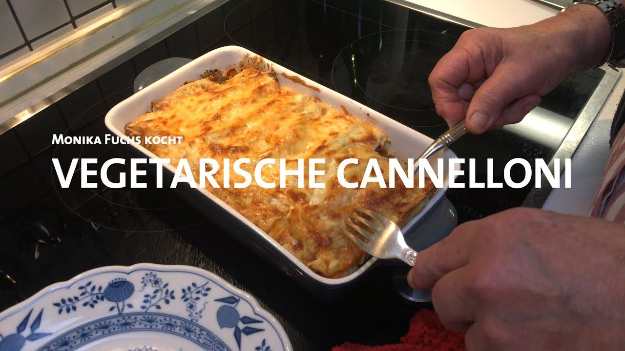 Vegetarische Cannelloni Youtube