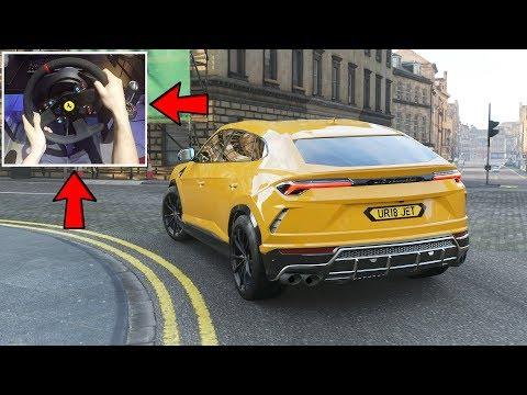 Forza Horizon 4 -  Lamborghini Urus | (w/ Steering Wheel) Gameplay thumbnail