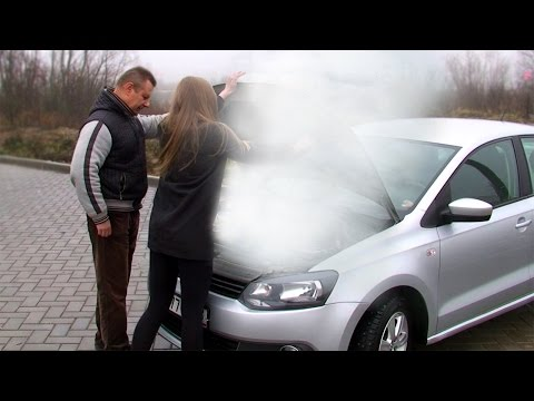 Почему загорелся VW Polo Sedan?