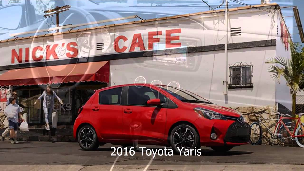 2016 toyota yaris from vandergriff toyota serving fort worth dallas and arlington tx
