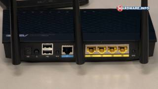 ASUS RT-N66U Dual Band Wireless Router review - Hardware.Info TV (Dutch)
