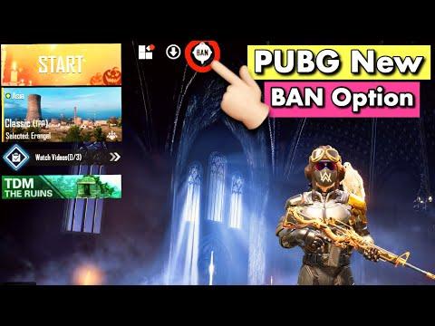 Pubg Mobile New Ban Option Explain In Hindi   Pubg New Ban Pan Option   GamingFeast