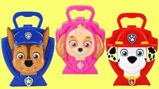Paw Patrol Puppy Pretend Play Music Carry Cases Toy Surprises