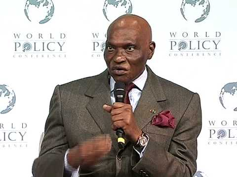 Abdoulaye Wade - Plenary Session Part 1