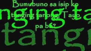 Repeat youtube video Mahal Tayo Pa Ba (with lyrics) Saint Rapper