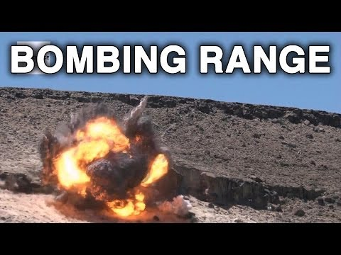 Nevada Test and Training Range - Life of a Target on the Bombing and Gunnery Range
