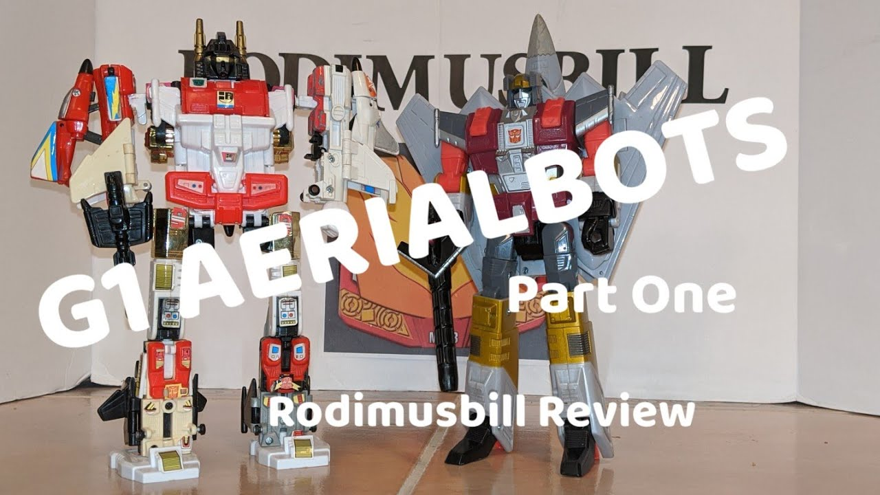 G1 Aerialbots Review (Part 1) - Flasback Friday