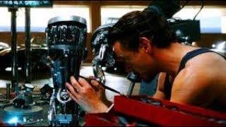 Тони Старк создаёт броню железного человека (Mark II)   Железный человек Iron Man