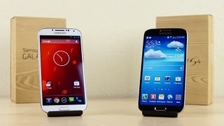 Stock Android vs. TouchWiz, Which Is Faster? (Galaxy S4)
