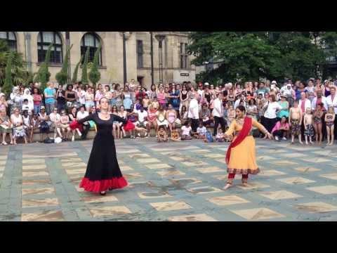 Kathak and Flamenco Fusion by Tuhina and Irene