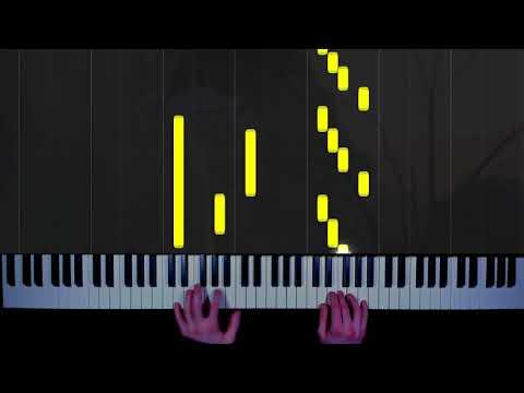 Луна - Jukebox - кавер на пианино | как играть | урок