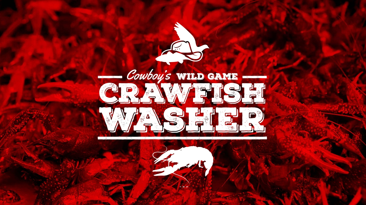 Cowboy's Crawfish Washer   Shellfish & Seafood Washer