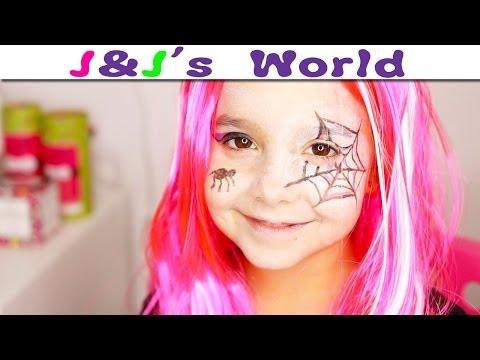 HALLOWEEN  Maquillage de petite Sorcière pour Halloween