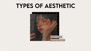 15 TYPES OF AESTHETIC | find your aesthetics (part 1) screenshot 1