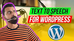 How To Convert Blog Post into Audio Podcast for free (WordPress) 🎙