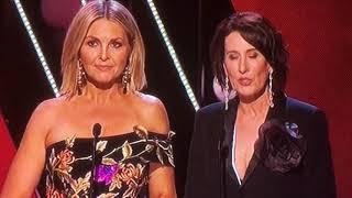 Georgie Gardner & Virginia Trioli at the 2018 Logie Awards
