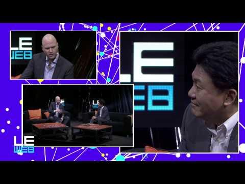 In Conversation with Hiroshi Mikitani, CEO Rakuten - LeWeb'14 Paris