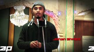 Johan Ahmed performs Ya Adheeman at  Qirat & Nasheed Competition 2011 Manchester Host by Kamal Uddin