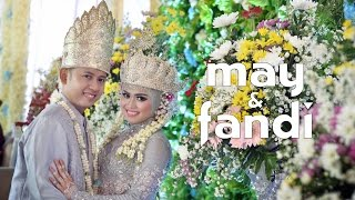 Video Ya Asyiqol Musthofa - Wedding Clip MAY & FANDI download MP3, 3GP, MP4, WEBM, AVI, FLV Agustus 2017