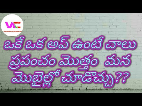 How to world satellite 3D map Telugu 2018
