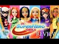 DC Super Hero Girls Action Dolls - Review | Wonder Woman, Supergirl, Poison Ivy, Harley Quinn