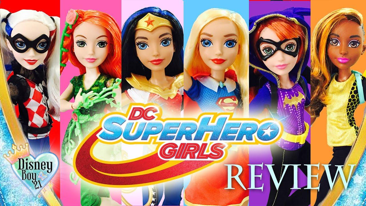 Dc Super Hero Girls Action Dolls Review Wonder Woman Supergirl