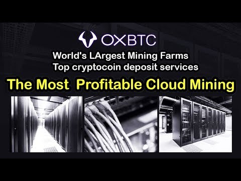 Oxbtc Bitcoin Ethereum Mining Contracts Is Back | The most profitable cloudmining  Limited Pre Order