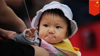 China has lowest number of births since 1961 - TomoNews