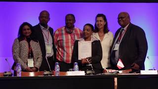 Official Disease Status ceremony at the 85th OIE General Session