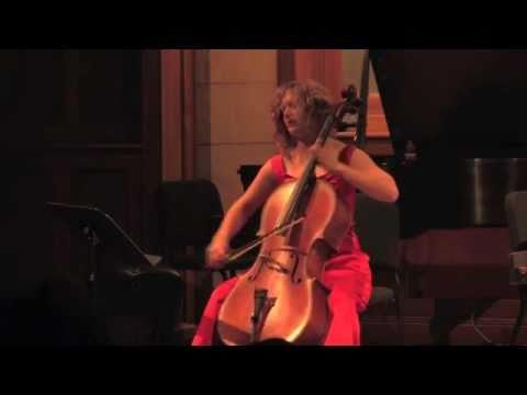 Shannon Hayden performs Ezra Laderman's Fantasy for solo cello - part 2