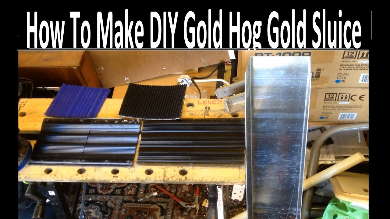 How To Make Diy Gold Hog Mat Gold Sluice Inc Vortex Mat