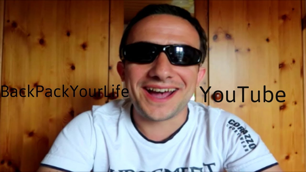Despre BackPackYourLife si YouTube **replica**