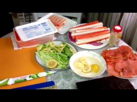 Очень вкусные суши-роллы в домашних условиях