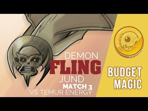 Budget Magic: Demon Fling Jund vs Temur Energy (Match 3)