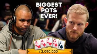 TOP 5 BIGGEST POKER POTS IN TELEVISED HISTORY!