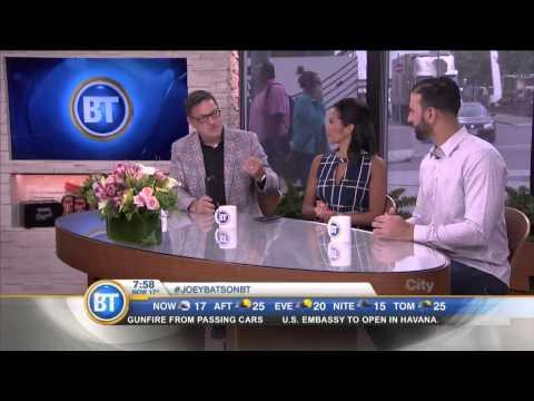 Jose Bautista chats Jays winning streak