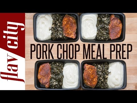 Pork Chop Meal Prep – Pork Meal Prep – Pork Chop Recipe