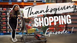 Costco Shopping for Thanksgiving! | Thanksgiving Prep EP.1