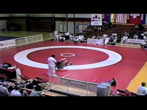 1999 Canada Cup: 130 kg Rob Jackson (CAN) vs. Juan Santos (VEN)