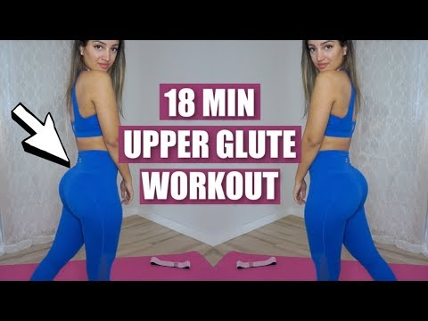 Upper Glute Workout | 18 Min Follow Along